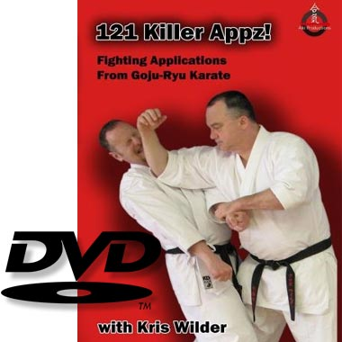 Karate DVD 121 Killer Appz